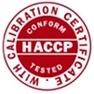 HACCP kalibratiecertificaat